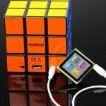 Curious-Speaker-for-iPod-Rubiks-Cube-Speaker