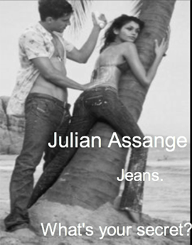 Julian Assange Jeans