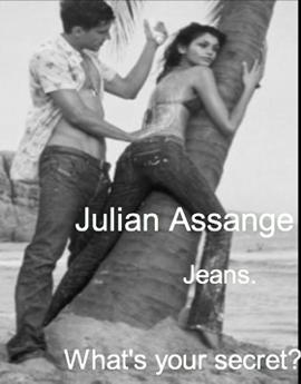 Julian Assange Jeans
